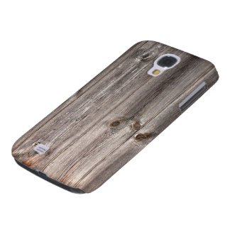 Rustic Faux Wood Texture Galaxy S4 Case