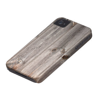 Rustic Faux Wood Texture iPhone 4 Cover