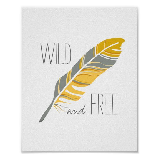 Rustic Feather | Wild and Free Nursery Wall