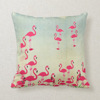 Rustic Flamingo Pillows Cushion Covers