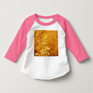 rustic,floral,gold,wavy,chic,elegant,pattern,vinta T-Shirt