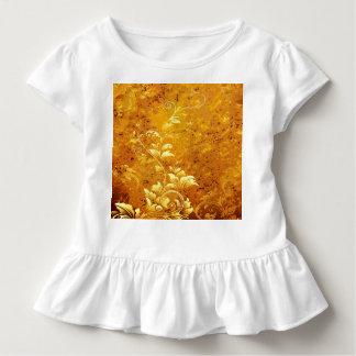 rustic,floral,gold,wavy,chic,elegant,pattern,vinta tshirt