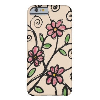 Rustic Floral Pattern Barely There iPhone 6 Case