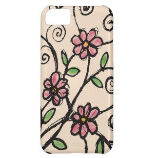 Rustic Floral Pattern iPhone 5C Case