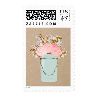 Rustic Flowers | Postage