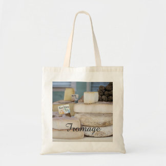 Rustic French Cheese Selection Tote Bag