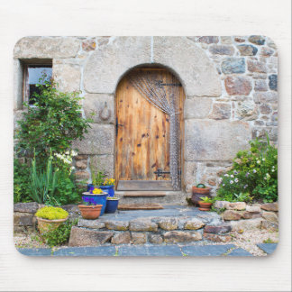 Rustic French Gite in Brittany France Mouse Pad
