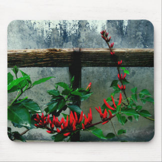 Rustic Garden Floral Mouse Pad