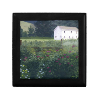 Rustic Garden Small Square Gift Box