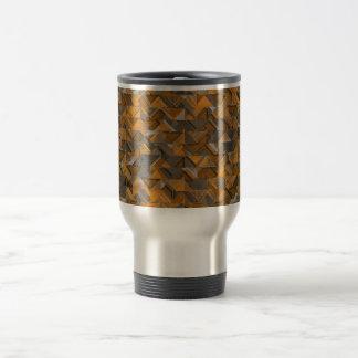 Rustic Geometric Explosion Travel Mug