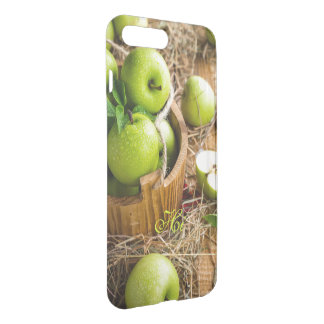 Rustic Green Apples Fruit Dewdrops Country Style iPhone 8 Plus/7 Plus Case