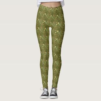 Rustic Green Leggings
