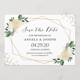 save the date cards zazzle uk