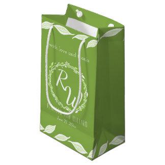 Rustic Greenery | Wedding Vine Leaves Versatile Small Gift Bag
