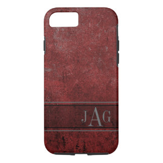 Rustic Grunge Red Book Design iPhone 8/7 Case