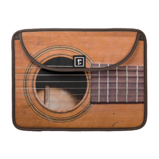 Rustic guitar MacBook pro sleeve
