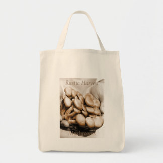 Rustic Harvest Mushrooms Photograph Tote Bag