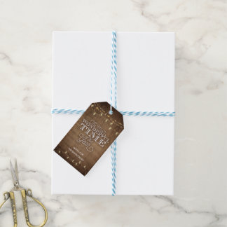 Rustic Holiday Gift Tag