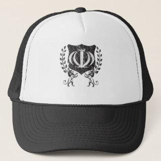 Rustic Iranian Shield Trucker Hat