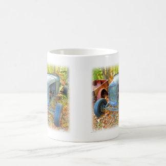 Rustic Junkyard Hot Rod Coffee Mugs