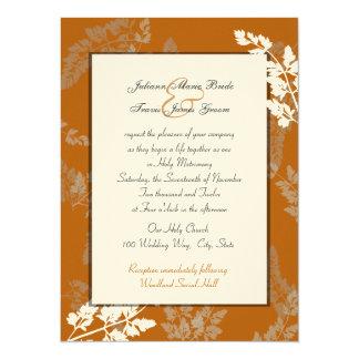 Rustic Lace Wedding Card