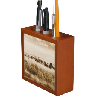 Rustic landscape from a car Pencil/Pen holder