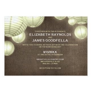 rustic lantern wedding invitations - Lantern Wedding Invitations