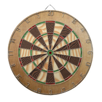 Rustic Lodge Dartboard