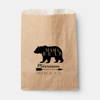 Rustic Mama Bear | Baby Shower Favour Bags