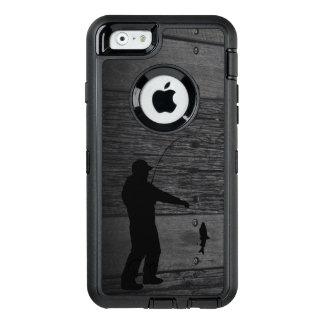Rustic Man Fishing Phone Case