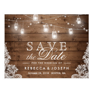 wedding postcards save the date