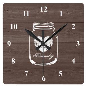 Country Kitchen Wall Clocks Zazzle Uk