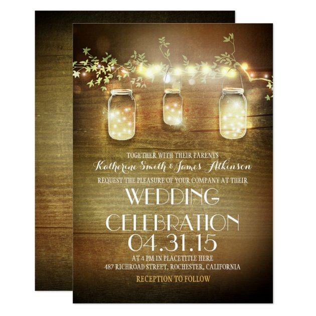 Wedding Invitations Rustic with amazing invitations ideas
