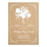 Rustic Mother's Day Invitation 13 Cm X 18 Cm Invitation Card
