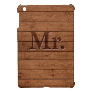 Rustic Mr. iPad Mini Cases