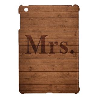 Rustic Mrs. iPad Mini Case