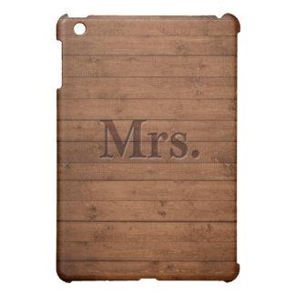 Rustic Mrs. Case For The iPad Mini