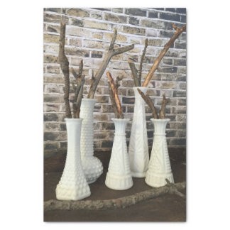 Rustic Natural Branches Tissue Paper
