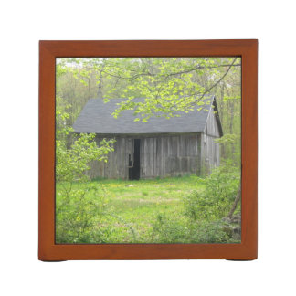 Rustic New England Barn Pencil Holder