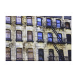 Rustic New York Building Canvas Prints
