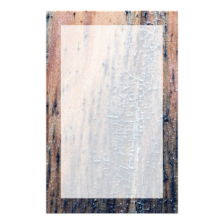 Rustic Old Wood Picture. Stationery