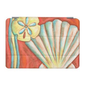 Rustic Orange Seashells iPad Mini Cover