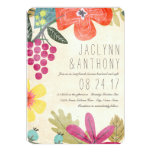 Rustic Paradise 5 X 7 Wedding Invitation