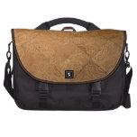 Rustic Parquet Laptop Shoulder Bag
