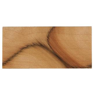 Rustic Patch Wood USB Flash Drive