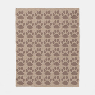 Rustic Paws Fleece Blanket
