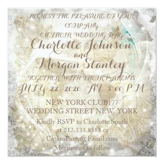 Rustic Personalised Wedding Invitation