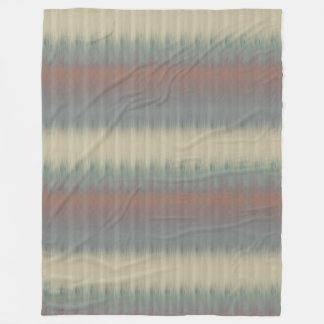Rustic Pine Lodge Color Fade Large Fleece Blanket