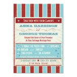 Rustic Poster: Red, White & Blue Custom Wedding