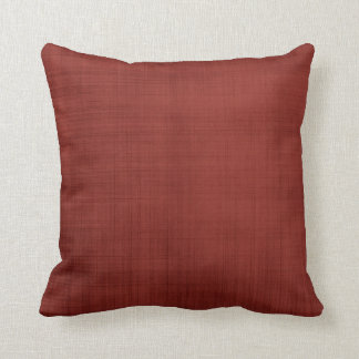 Rustic Red Throw Pillow